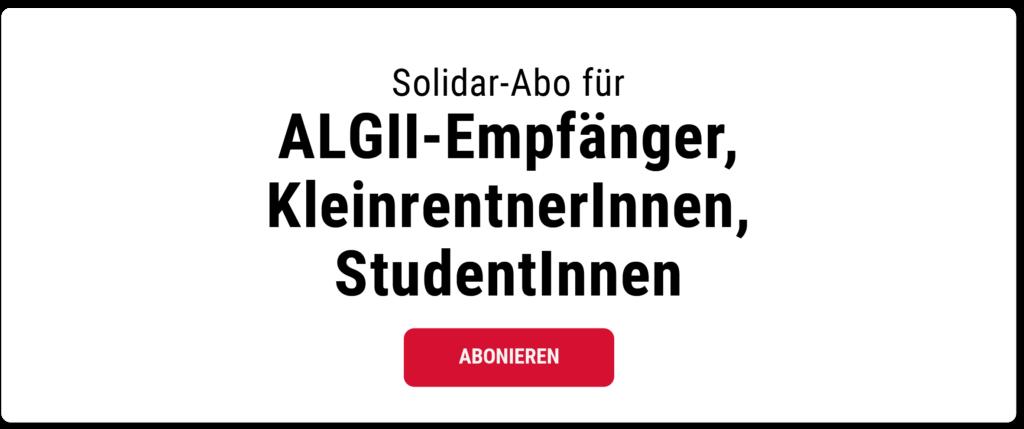 ein Abonement für 7,50 Jahresabonnement für ALG 2 Empfänger wählen