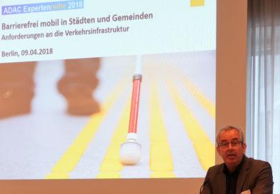 Barrierefrei mobil in Städten und Gemeinden: ADAC hatte zum Fachgespräch geladen