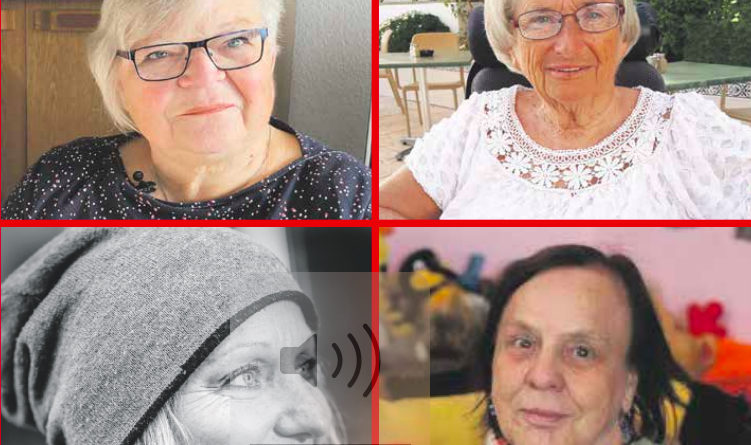 Collage der vier Preisträgerinnen