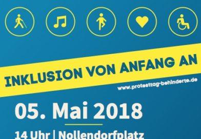 Flyer zum Protesttag
