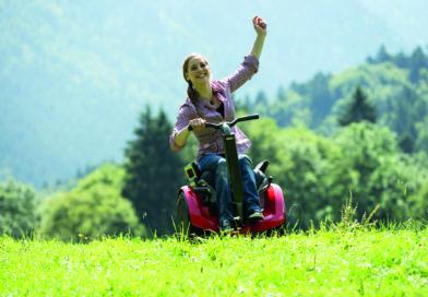 Mit Elektro-Rollstuhl Freee F2 ein neues  Lebensgefühl erfahren