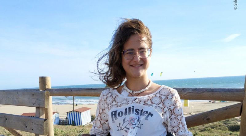 Die Spanierin Sarah Almagro Vallejo.