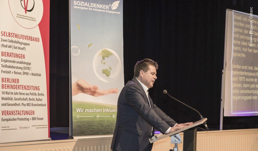 Jürgen Dusel (Beauftragter der Bundesregierung fürdie Belange von Menschen mit Behinderung).
