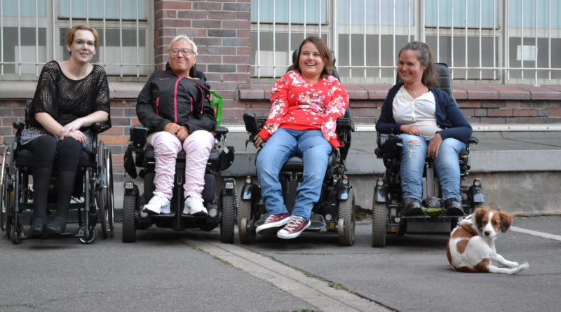 Das akse-Team: Ramona Hahn, Jenny Bießmann, Hanna Kindlein, Friederike Matz (von links).