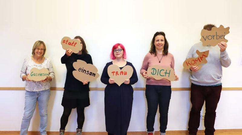 Karin, Ulrike, Juliane und Nicole vom Offenen Treff Angst & Depression.