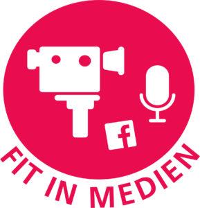 """Logo von """"Fit in Medien"""""""