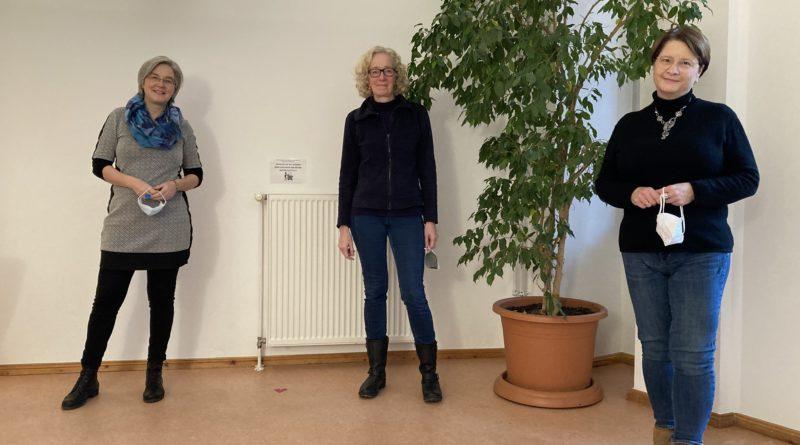 Birgit Sowade, Angelika Vahnenbruck und Sonja Arens