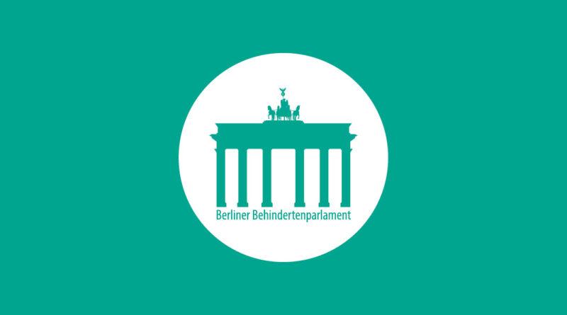 Logo des Berliner Behindertenparlaments