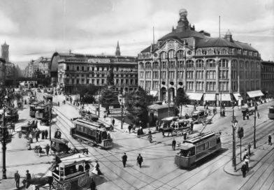 Das Kaufhaus Tietz am Alexanderplatz im Jahr1906.