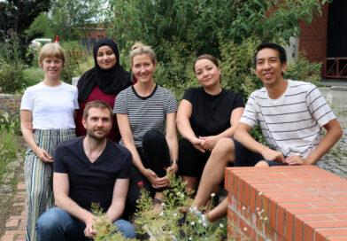Das hauptamtliche Triaphon-Team mit sechs Personen.